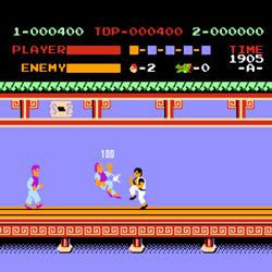 Juego-kung-fu-de-Family-NES